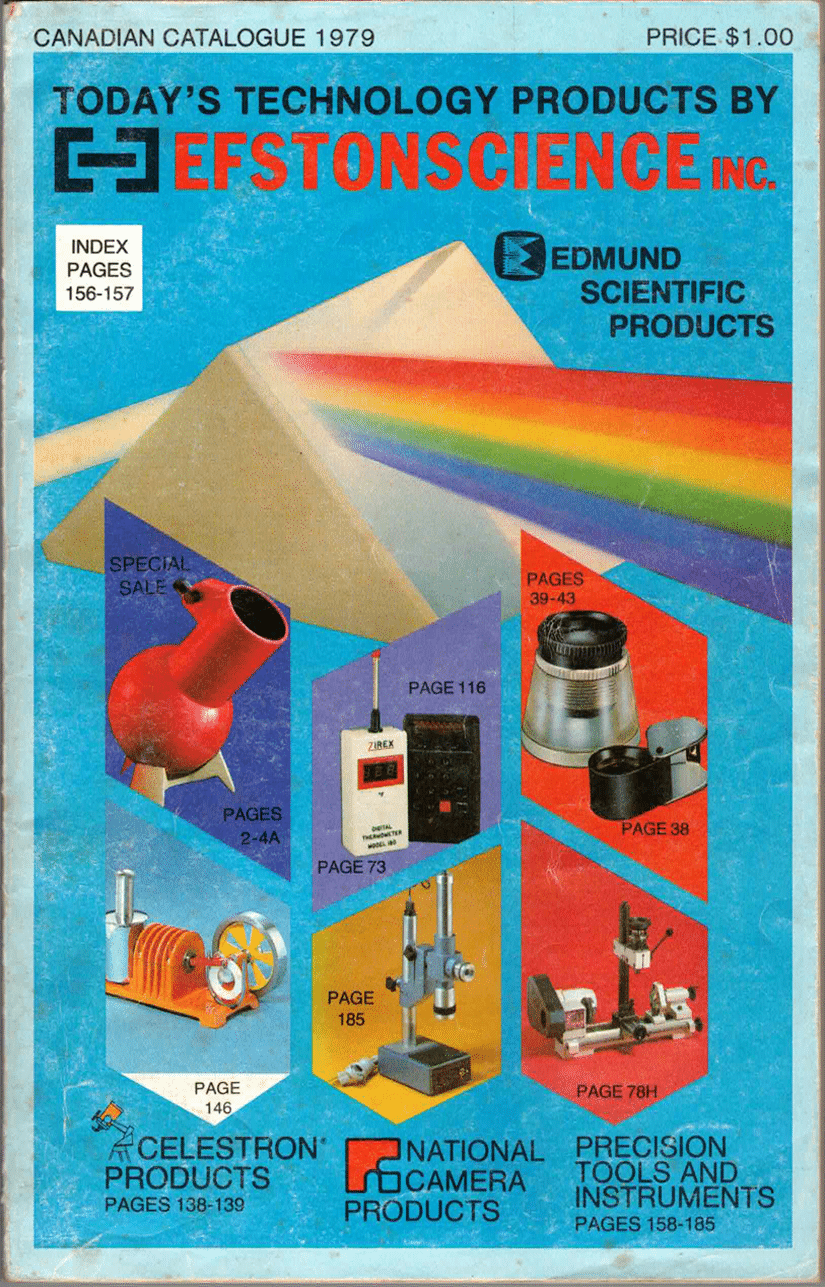 1979 ES Vintage Catalogue Cover