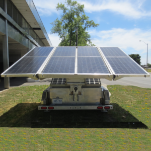 MOBISUN Mobile Off-Grid Solar Trailer