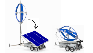 MOBILE HYBRID WIND & SOLAR POWER SYSTEM