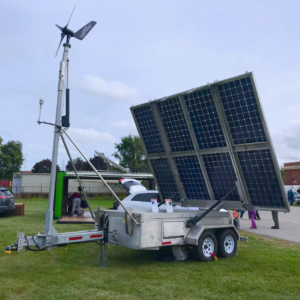 MOBILE HYBRIDWIND & SOLAR POWER SYSTEM